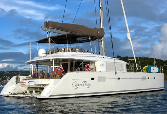 Copper Penny Charter Catamaran