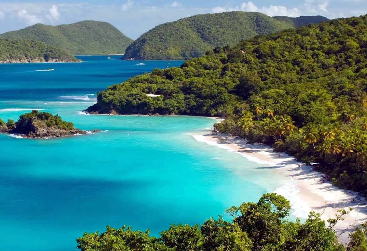 LEEWARD ISLANDS Trunk Bay, USVI