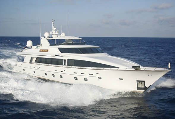 Luxury Motor Yacht Aspen Alternative
