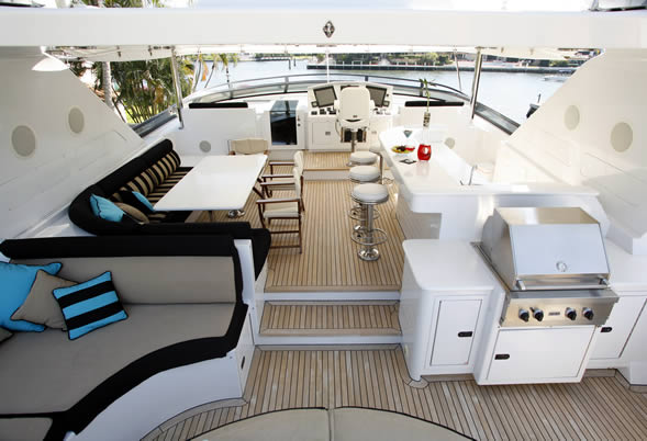 Aspen Alternative Flybridge Sundeck