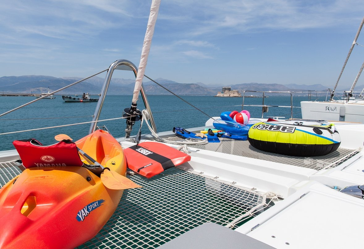 Sailing Charter Catamaran SERENITY Choice of Water Toys