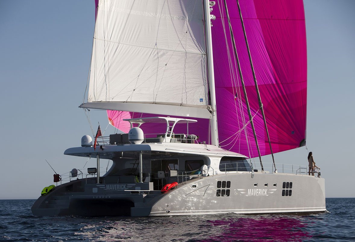 Yacht Maverick Photo Gallery - Luxury Charter Group