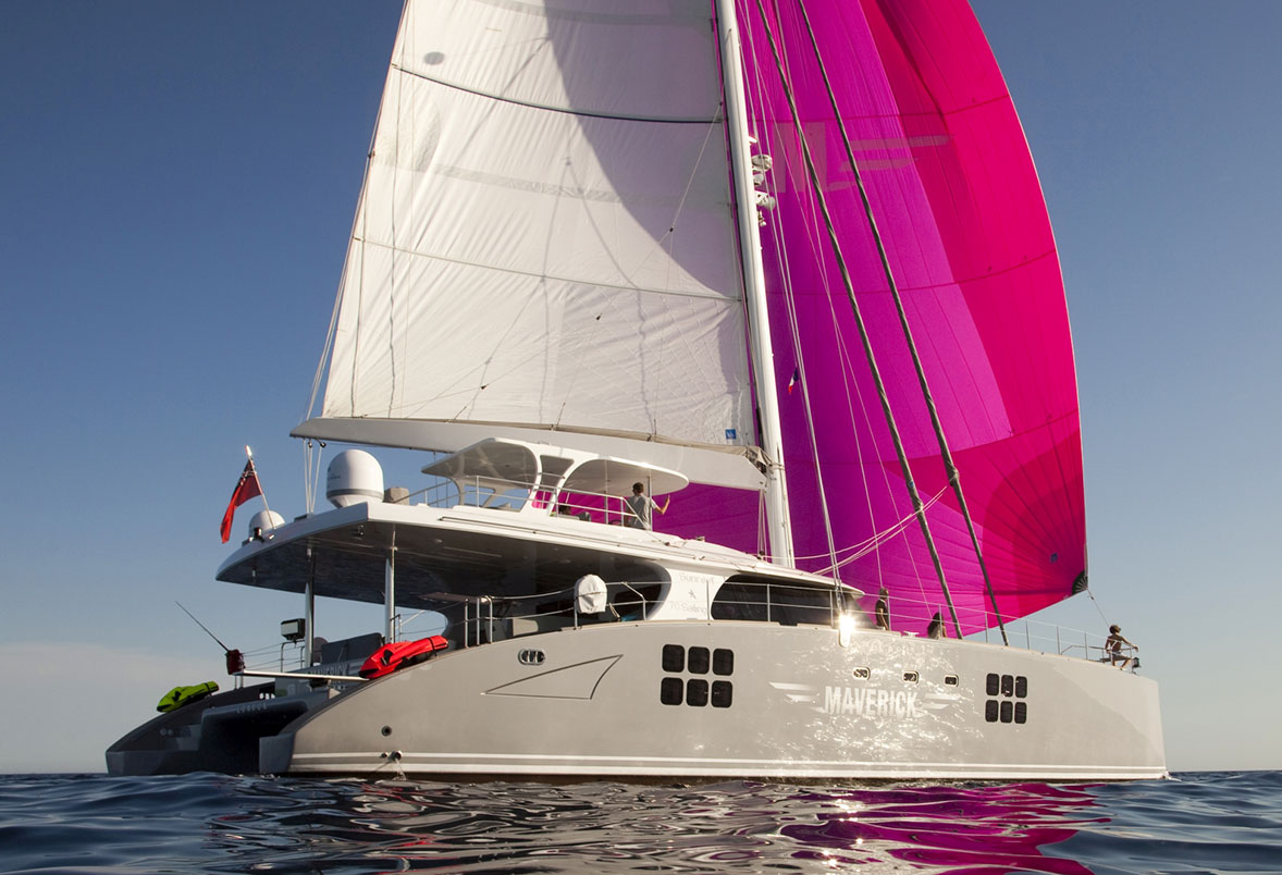 MAVERICK Catamaran à Louer aux Caraïbes - Luxury Charter Group