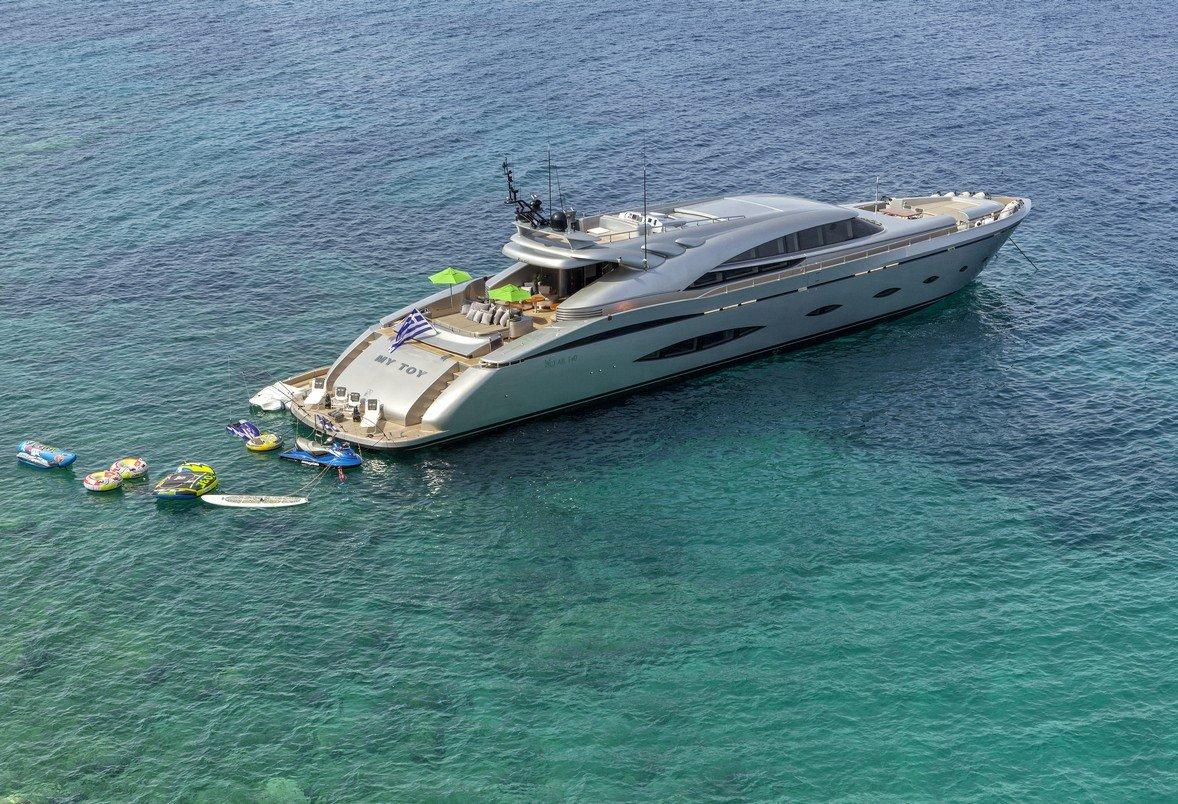 Motor Yacht My Toy Charters In Greece And Turkey Luxury
