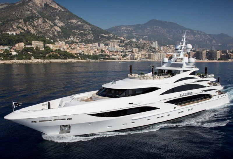 Charter yacht Illusion V