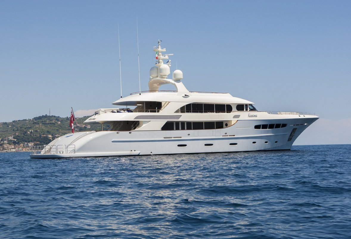 NASSIMA Motor Yacht Charter in the Med - Luxury Charter Group