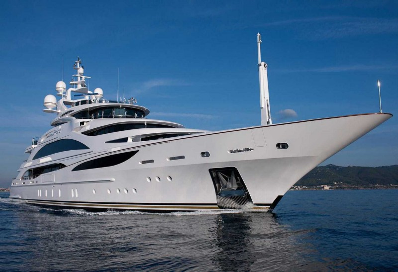 Charter Yacht Diamonds are Forever