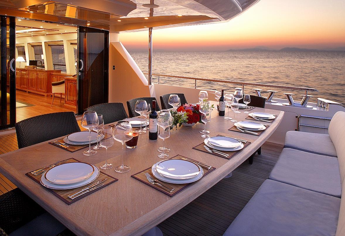 Charter Luxury Motor Yacht Dragon In Greece Luxury