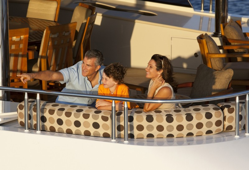 Family on charter