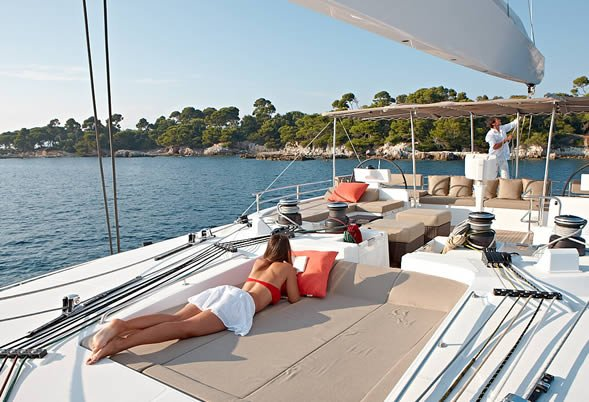Firefly Catamaran Flybridge Sundeck