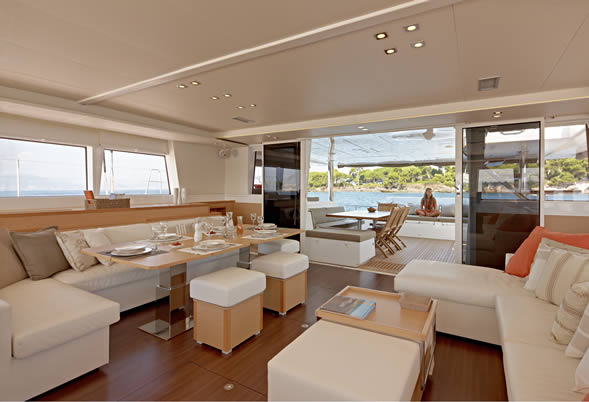 Firefly Saloon looking to Aft Deck
