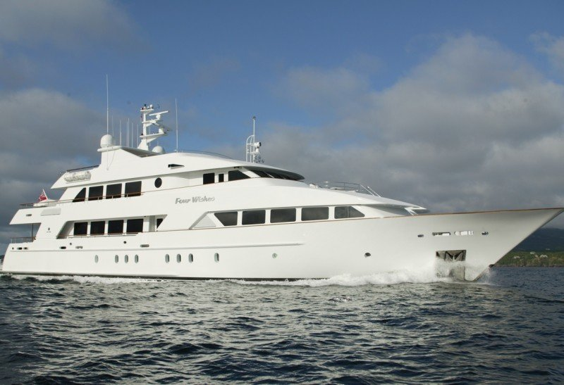 Charter Yacht Four Wishes