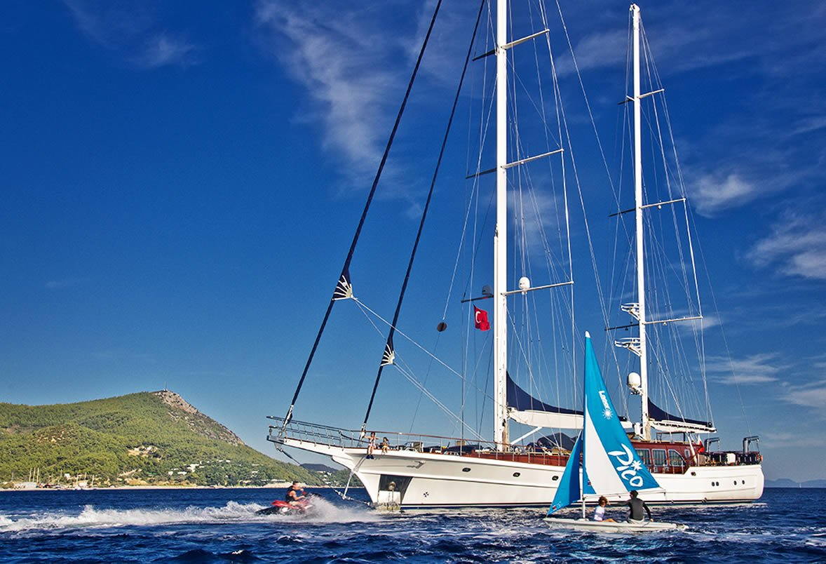 Luxury Gulet Charter in Turkey