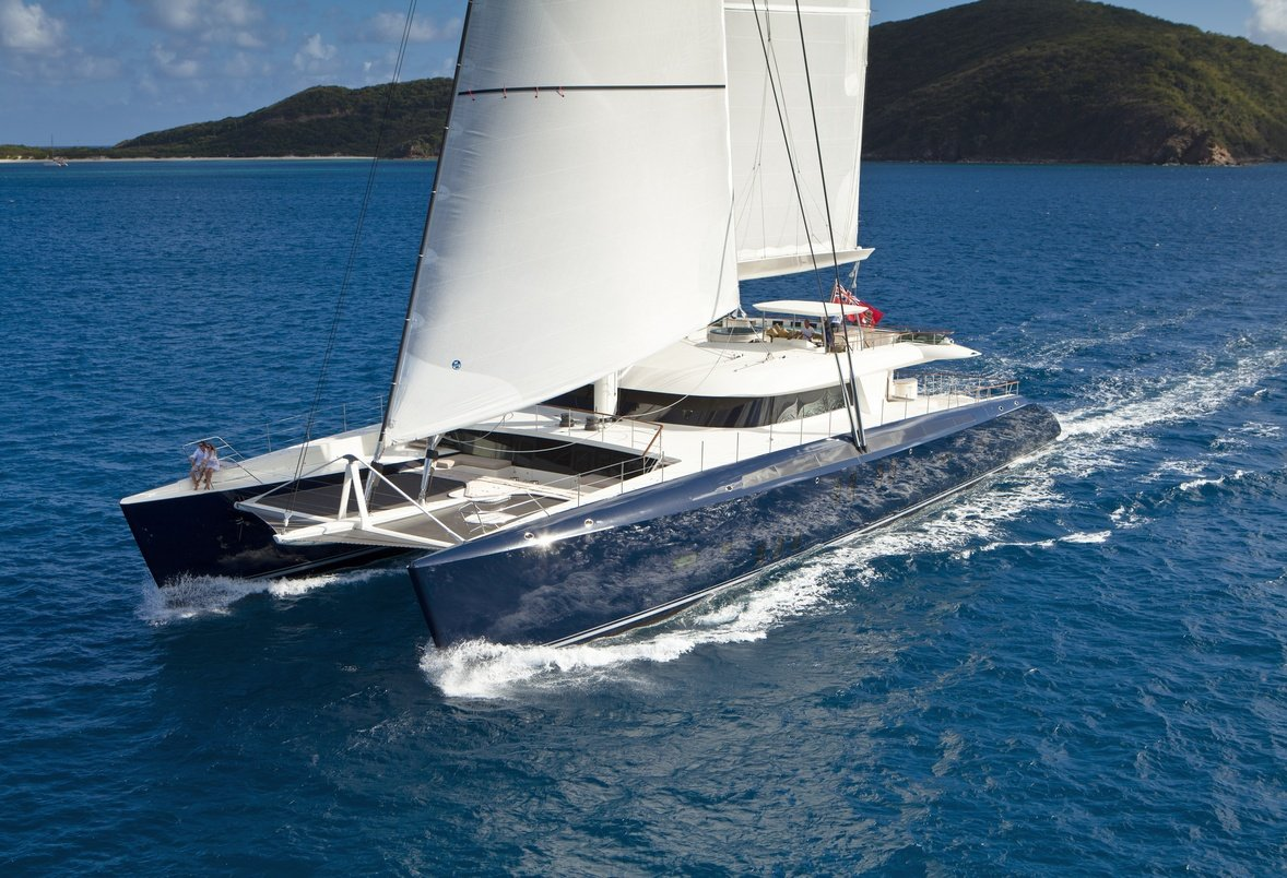 French Home Interior Catamaran Hemisphere The World S Largest Sailing