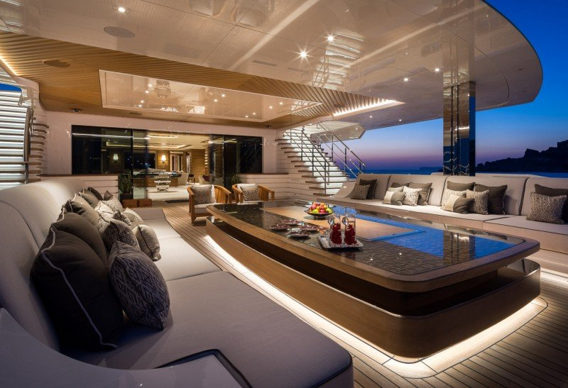 Luxury megayacht LANA