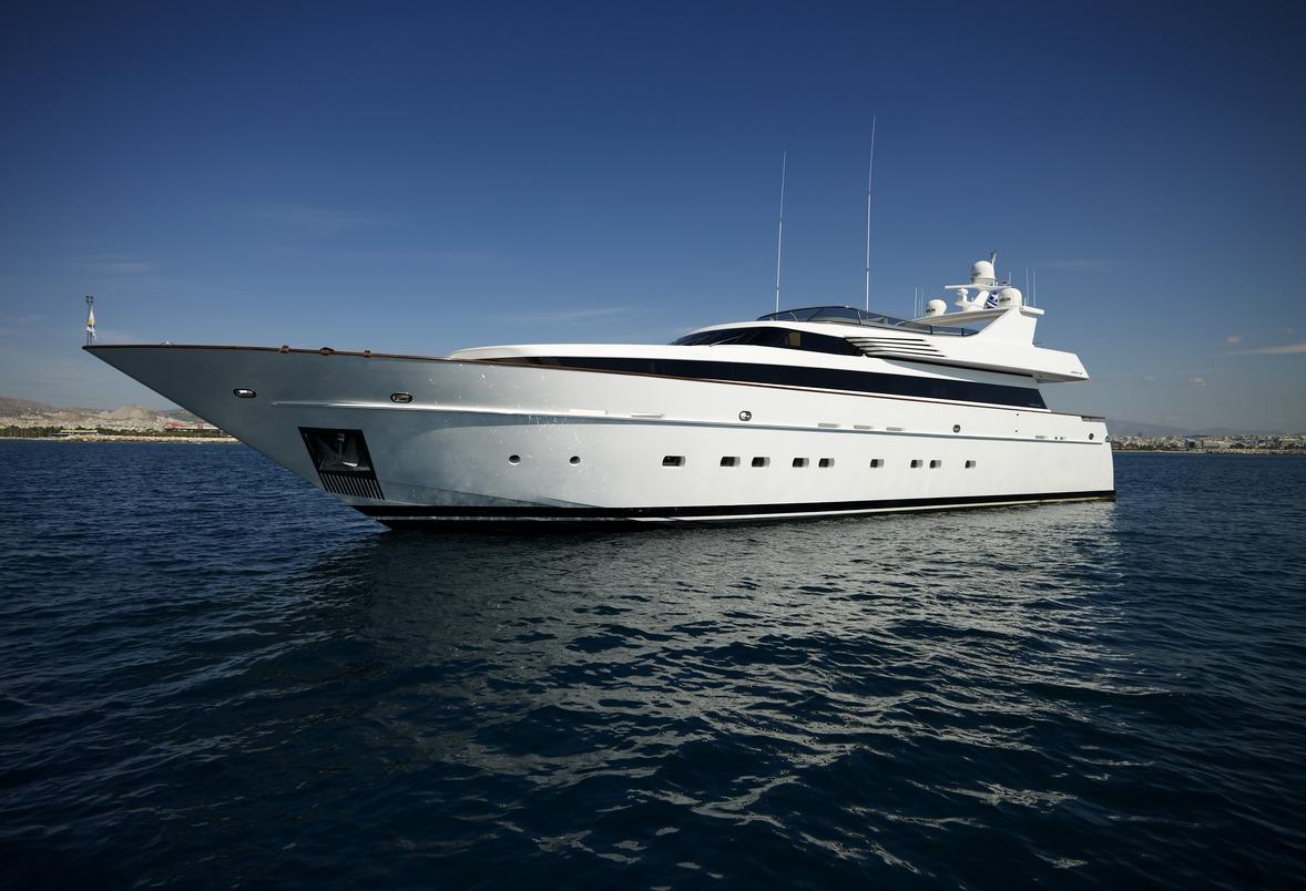 Luxury Charter Yacht Feligo V In Greece Luxury Charter Group