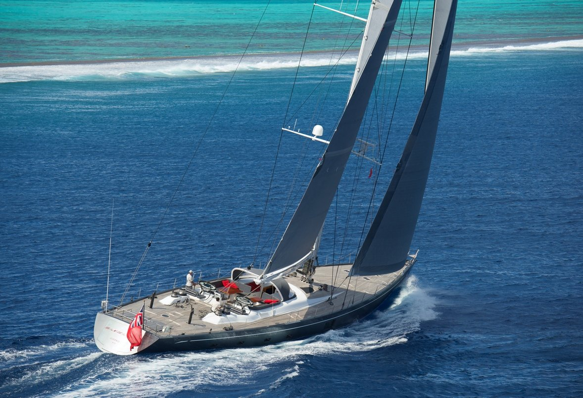 Luxury Charter Sailing Yacht SILVERTIP