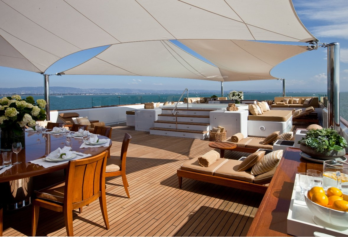Luxury Expedition Yacht SURI Sun Deck