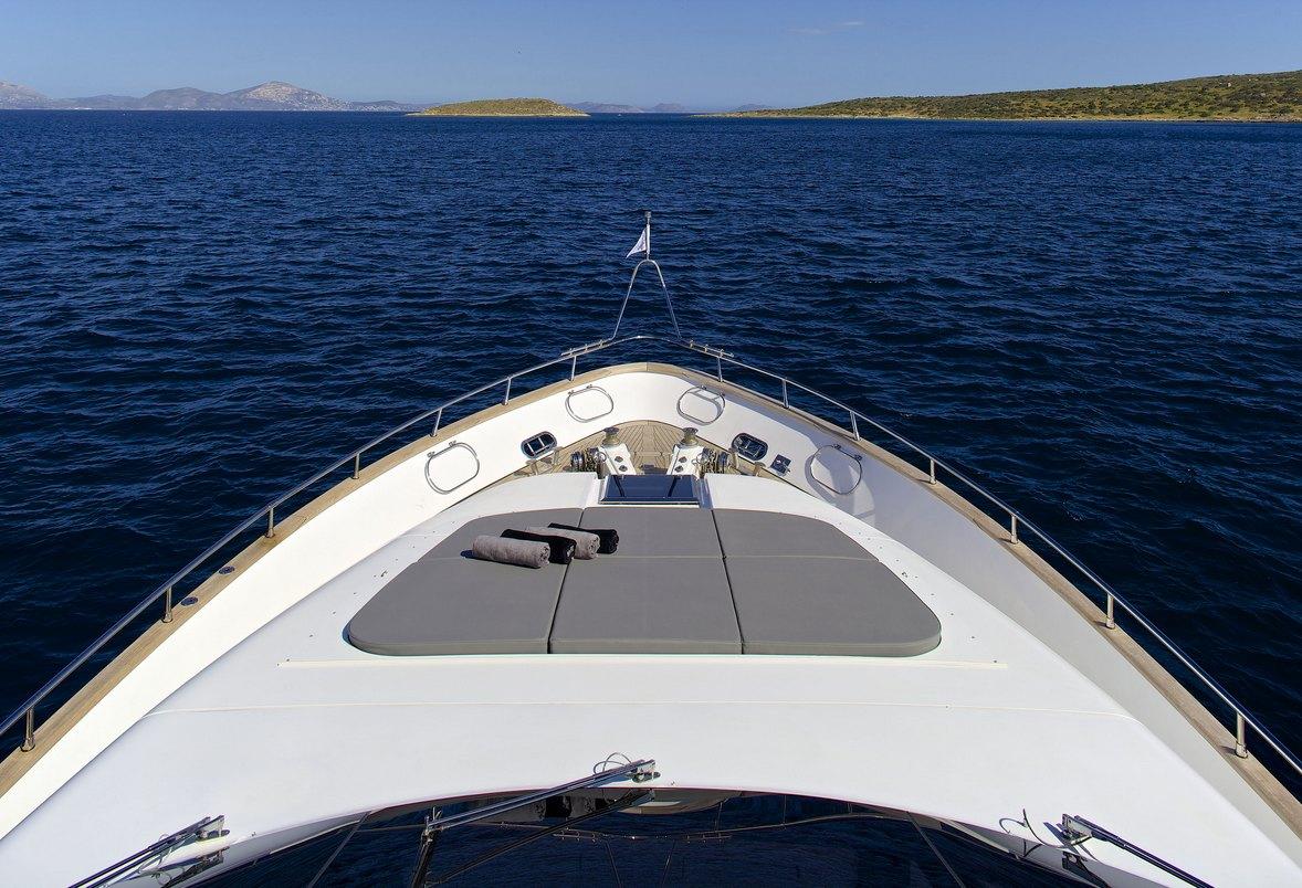 Motor yacht cudu charters in greece and turkey luxury for Motor boat rental greece