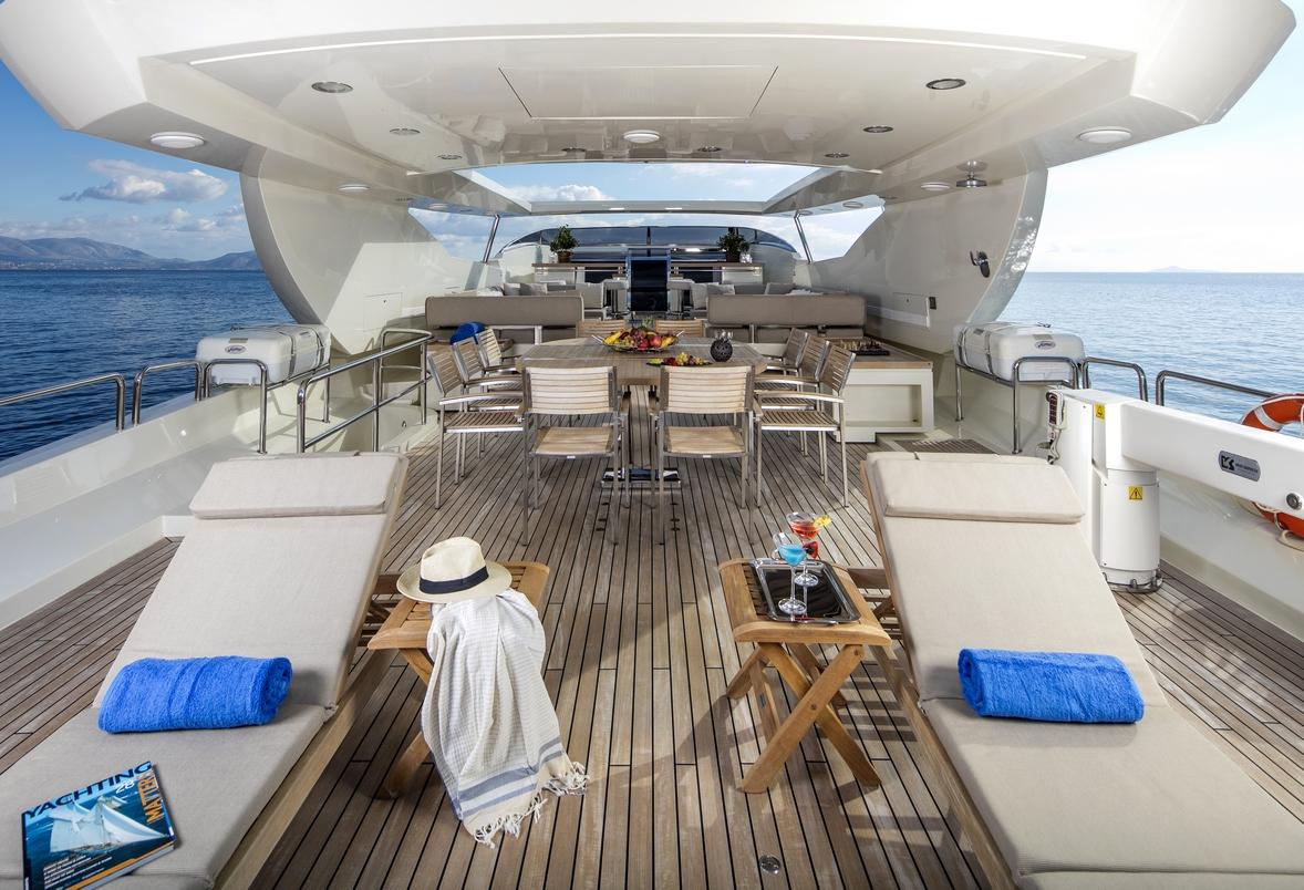 Motor yacht rini charters in greece and turkey luxury for Motor boat rental greece
