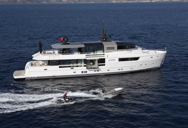 Environ,entally-friendly Luxury Yacht Arcadia JURATA