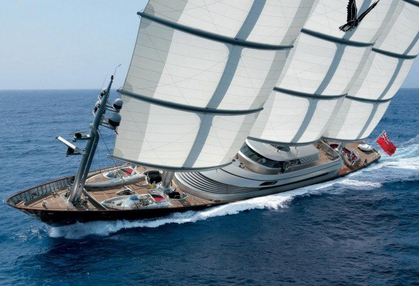Sailing Yacht MALTESE FALCON designed by Ken Freivokh