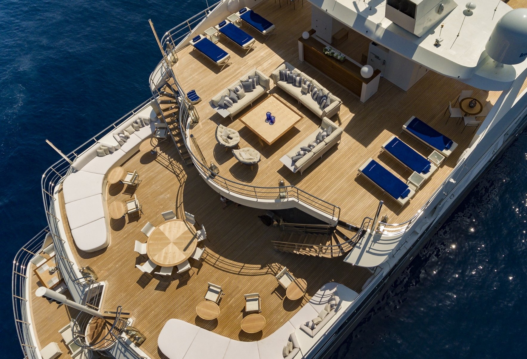 SERENITY Aft Aerial View