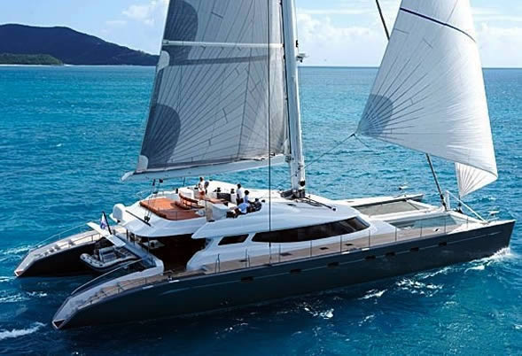 ALLURES - Luxury Catamaran with space, pace and grace