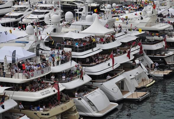 Le gp de monaco bord d 39 o 39 mega - Salon du yacht monaco ...