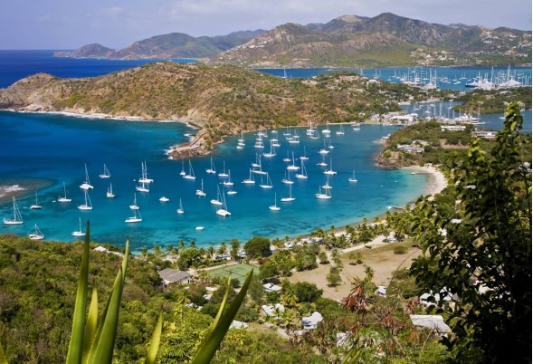 92 charter yachts in 6 days in Antigua!