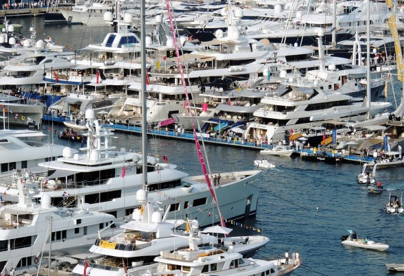 port d attache des superyachts salon nautique monaco 2014