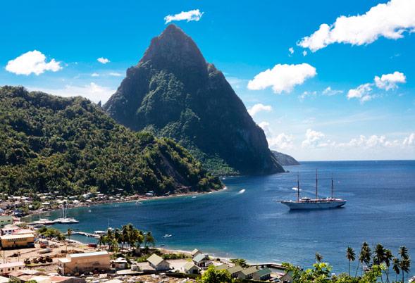 Charter Yacht OLGA IN ST. LUCIA