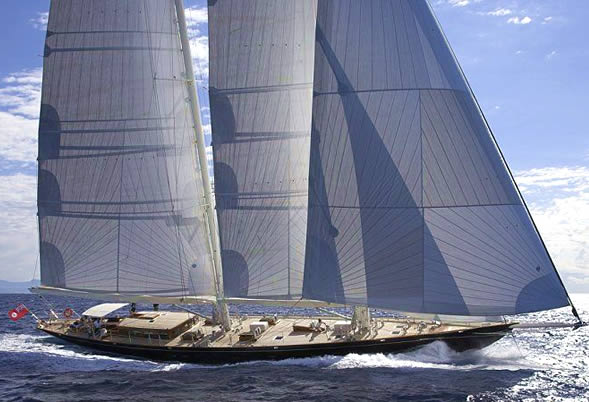 Sailing Yacht THIS IS US for charter in the Balearic Islands