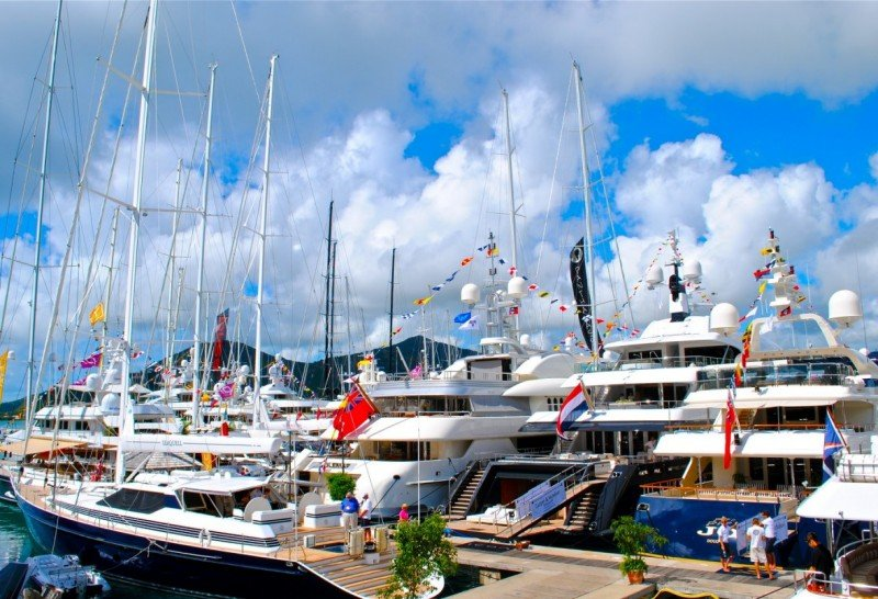 Luxury Charter Group attend the 2018 Antigua Charter Yacht Show