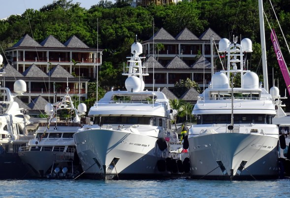 100 yachts, 5 days at Antigua Charter Yacht Show