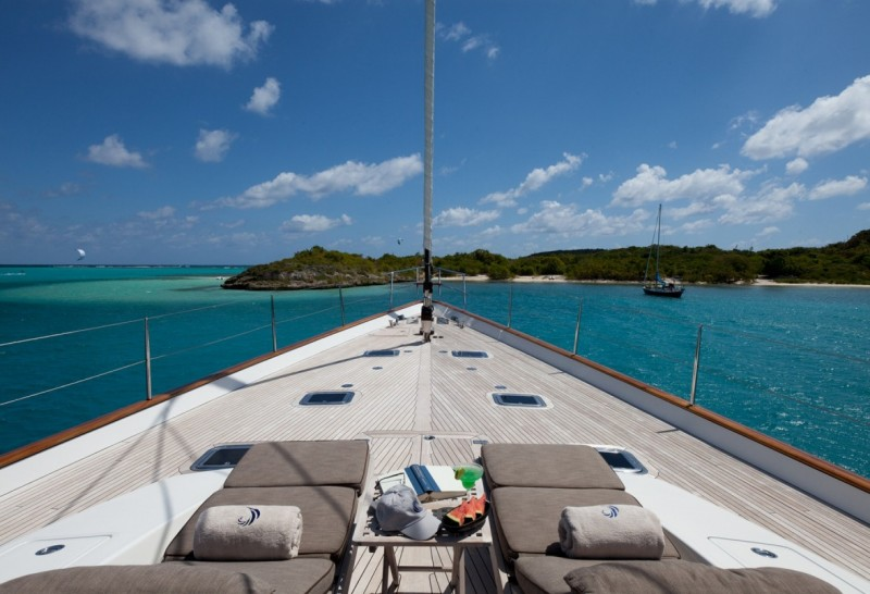 Charter a Luxury Sailing Yacht in the Caribbean