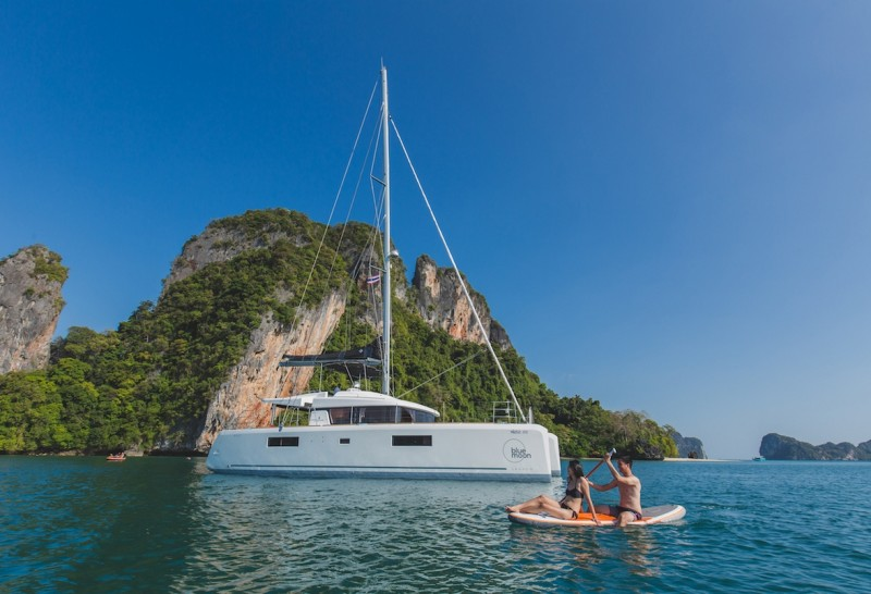 Discover exotic Asia by luxury charter yacht