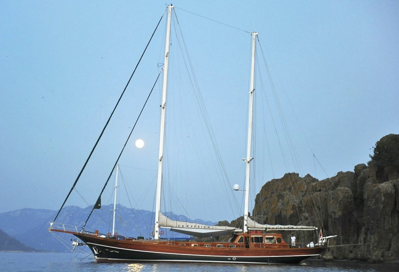 Charter the recently refitted Gulet CARPE DIEM I