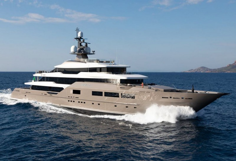 Luxury Charter Yacht SOLO takes centre stage at the Monaco Yacht Show
