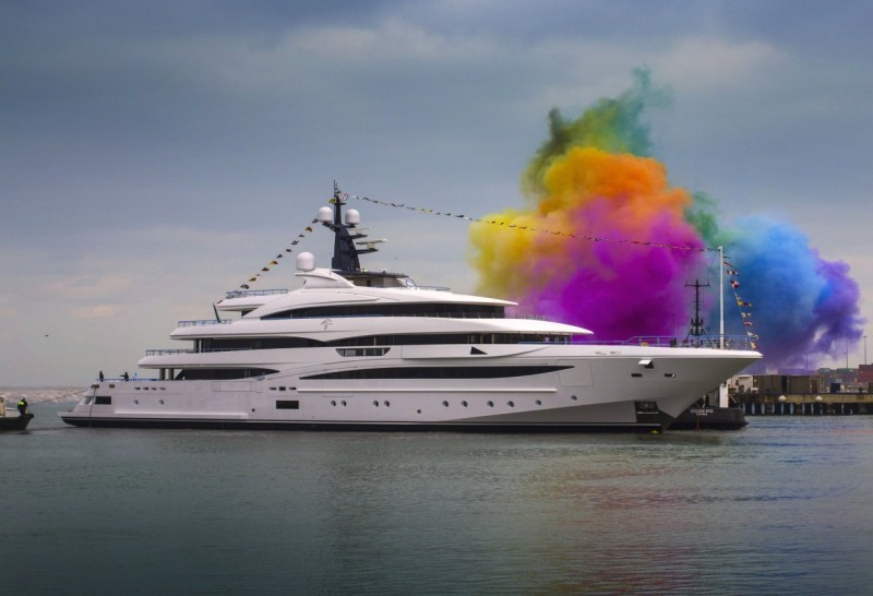 Heavenly Cloud 9 - the latest luxury charter yacht is launched