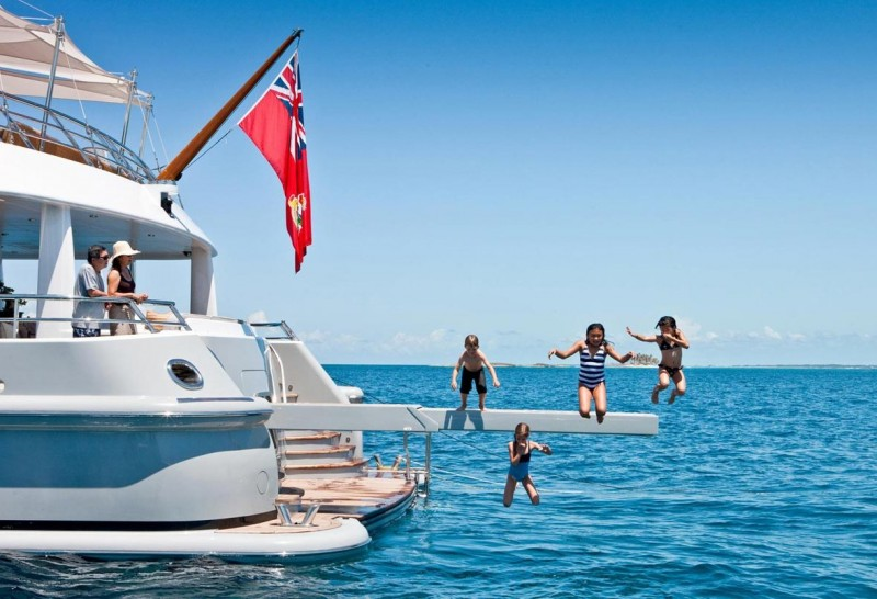 Families afloat – happy luxury charters with little guests