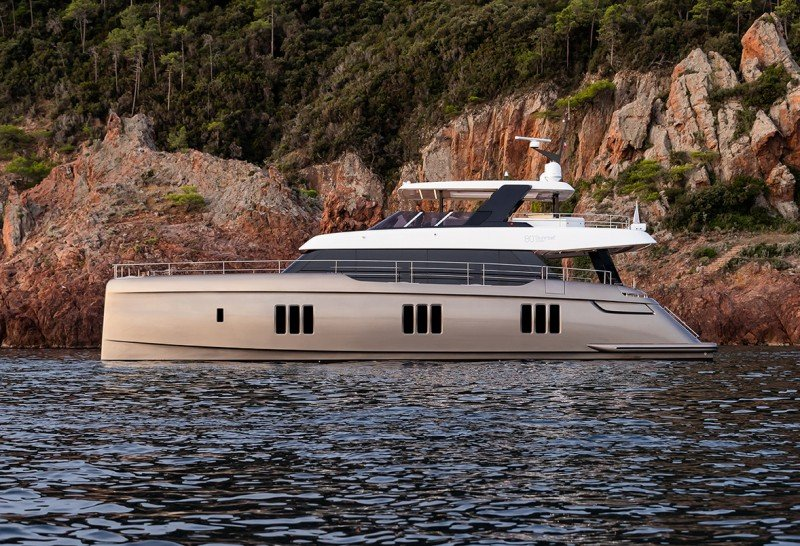 Power Catamarans Set to Wow Luxury Charter Guests