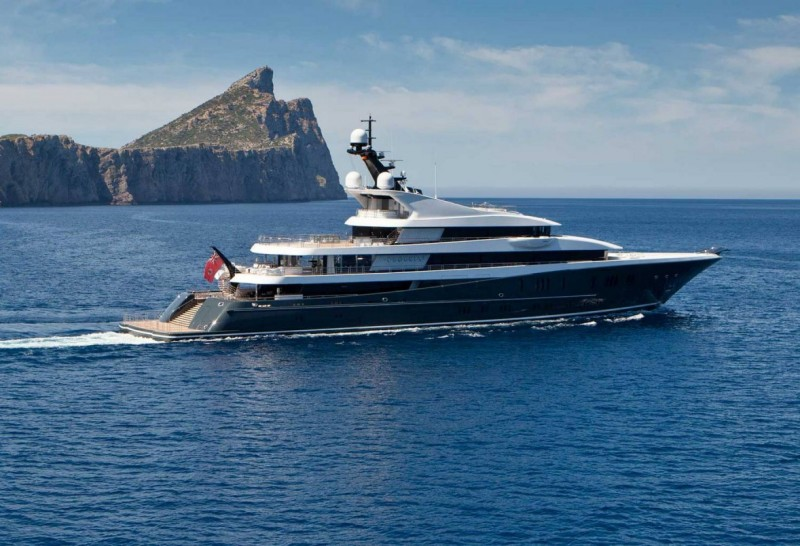 Charter yacht brands to know: LÜRSSEN