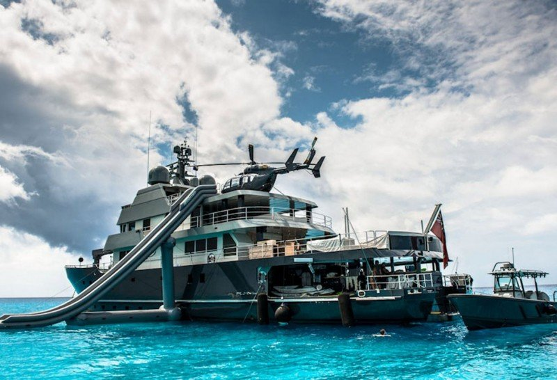 Long range charter yachts at the Antigua Yacht Show