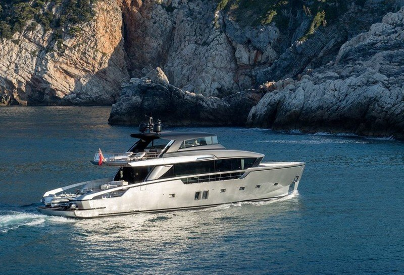 "Cutting edge Sanlorenzo SX88 awarded ""most avant-garde yacht"""