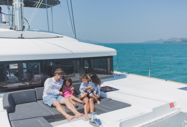 Family Charter Vacations offer Privacy & Freedom