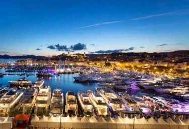 Luxury Charter Group visit the Cannes Yacht Show