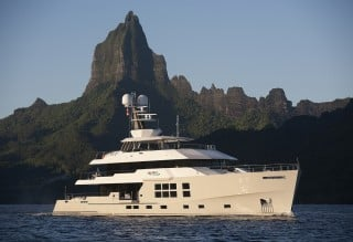 BIG FISH ideal charter yacht in French Polynesia