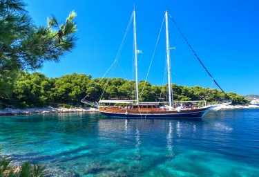 Book now for a 2019 gulet charter in Croatia.