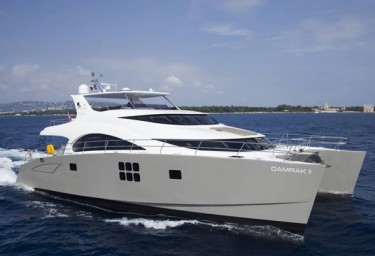 DAMRAK II Available for luxury Caribbean Charter
